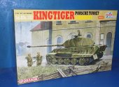 Dragon 1/35 6302 King Tiger Porsche Turret w/ Zimmerit Date: 00's