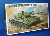 Tamiya 1/35 30252 JGSDF Type 74 Tank - Wired RC Date: 00's