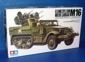 Tamiya 1/35 35081 M16 Multiple Gun Carriage Date: 00's