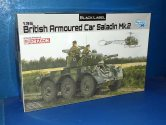 Dragon 1/35 3554 British Armoured Car Saladin Mk.2 Date: 00's