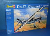 Revell 1/32 04745 Do27 Grzimek Serengeti Version Date: 00's