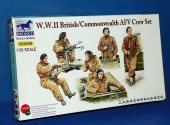 Bronco 1/35 35098 WWII British / Commonwealth AFV Crew Set Date: 00's