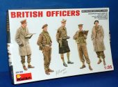 Miniart 1/35 35165 British Officers Date: 00's