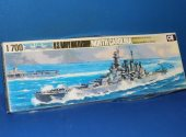 Aoshima 1/700 105 US Battleship North Carolina Date: 80's