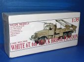 Wespe 1/35 35102 White 6T 6x6 Truck Bridge Pontoon - Resin Kit Date: 00's