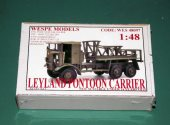 Wespe 1/48 48097 Leyland Pontoon Carrier Date: 00's