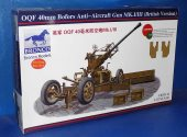 Bronco 1/35 35111 OQF 40mm Bofores Anti Aircraft Gun Mk.I/III Date: 00's