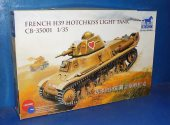 Bronco 1/35 35001 French H39 Hotchkiss Light Tank Date: 00's