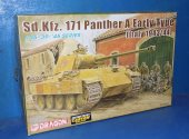 Dragon 1/35 6160 Sd.Kfz.171 Panther A Early Type Date: 00's