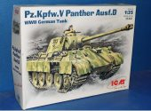 ICM 1/35 35361 Pz.Kpfw.V Panther Ausf.D Date: 00's