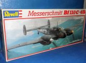 Revell 1/32 4771 Me Bf110C-4B Date: 1980's