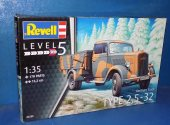 Revell 1/35 03250 Type 2, 5-32 German Truck Date: 00's