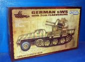 Great Wall Hobby 1/35 L3525 German SWS with 2cm Flakvierling Date: 00's
