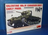 Miniart 1/35 35123 Valentine Mk.VI Canadian Built Early Date: 00's
