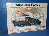 Mirage Hobby 1/35 35106 Russian T-50 AA Light Tank Date: 00's