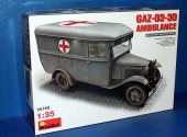 Miniart 1/35 35160 GAZ-030-30 Ambulance Date: 00's
