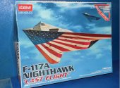 Academy 1/48 12219 F-117A Nighthawk Last Flight Date: 00's