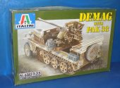 Italeri 1/35 6383 Demag with Pak 38 Date: 00's