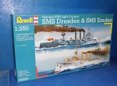 Revell 1/350 0550 SMS Desden and SMS Emden Date: 00's