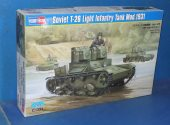 Hobbyboss 1/35 82494 T-26 Light Infantry Tank Date: 00's