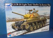 Bronco 1/35 35139 US M-24 Light Tank Chaffee - Kroean War Date: 00's