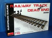 Miniart 1/35 35568 Railway Track w/ Dead End Date: 00's