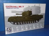 AFV Club 1/35 35155 Churchill Mk.V w/95mm Howitzer Date: 00's
