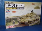 Dragon 1/35 6848 King Tiger Porsche Turret w/ Zimmerit Date: 00's