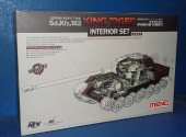 Meng Model 1/35 SPS-062 King Tiger (Porsche Turret) Interior Set Date: 00's