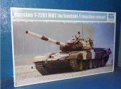 Trumpeter 1/35 09555 T-72B1 MBT w/ Reactive Armour Date: 00's