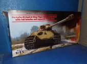 ICM 1/35 35364 King Tiger Late Production w/ Full Interior Date: 00's