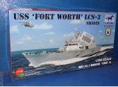Bronco 1/350 NB5028 USS Fort Worth LCS-3 Date: 00's