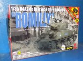 Asuka 1/35 35037s M4A2 Sherman Free French 'Romilly' w/ Hedge Cutter Date: 00's