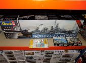 Revell 1/144 05150 Fletcher Class Destroyer Platinum Edition w/ Extras Date: 00's