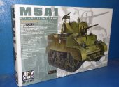 AFV Club 1/35 35161 M5A1 Stuart Light Tank Late Type Date: 00's
