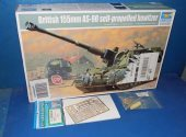 Trumpeter 1/35 00324 British 155mm AS-90 SPG w/ Extras Date: 00's
