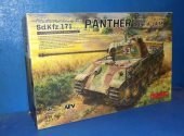 Meng Model 1/35 TS-035 Panther Ausf.A Late Date: 00's