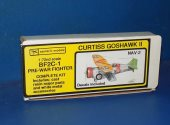 Esoteric Models 1/72 NAV2 BF2C-1 Curtiss Goshawk II - Resin Kit Date: 90's