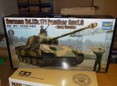 Trumpeter 1/16 00928 Sd.Kfz.171 Panther Ausf.G Early Date: 00's