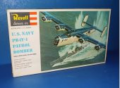 Revell 1/72 H205 PB4Y-1 Patrol Bomber Date: 70's