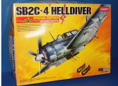 Academy 1/72 12409 SB2C-4 Helldiver w/ Etch Date: 00's