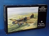 Classic Airframes 1/48 4120 Avro Anson Mk.I Early Date: 00's