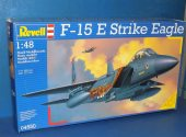 Revell 1/48 04550 F-15E Strike Eagle ()NO Decals) Date: 00's