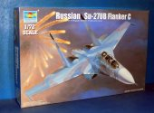 Trumpeter 1/72 01645 Su-27UB Flanker C Date: 00's