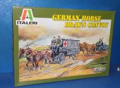 Italeri 1/35 6437 German Horse Drawn Convoy Date: 00's