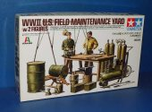 Tamiya 1/35 25106 WWII US Field Maintenance Yard Date: 00's