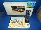 Tamiya 1/35 89785 LRDG Command Car & Breda 20mm AA Gun w/ Figures and etch Date: 00's