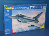 Revell 1/72 04317 Eurofighter Typhoon Single Seat Date: 00's