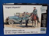 Master Box 1/35 35151 Sd.Kfz.2 German Radio Car 170VK w/ Crew Date: 00's