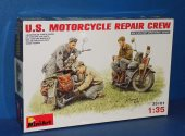 Miniart 1/35 35101 US Motorcycle Repair Crew Date: 00's
